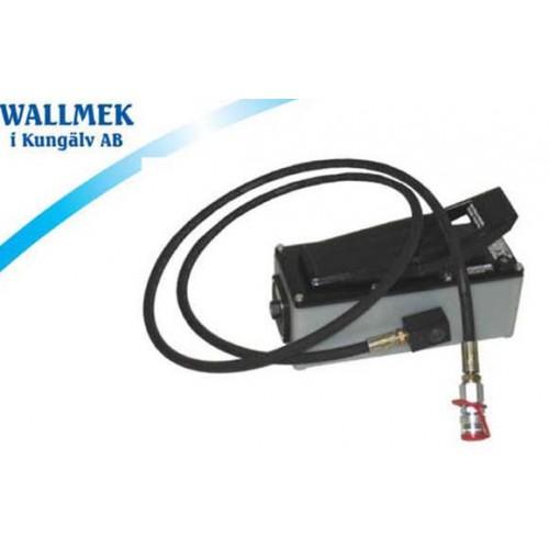 WALLMEK - Pompa pneumatyczno - hydrauliczna komplet