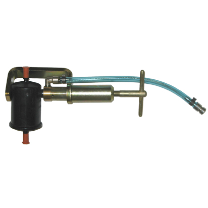 Adapter do odsysania paliwa z filtra